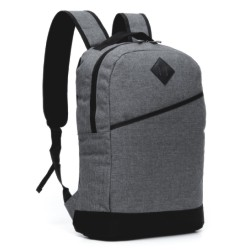 00599-Mochila Canvas Porta Notebook