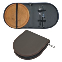 00982-Set de asado simple simil cuero