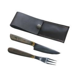 20/01-Cuchillo y Tenedor con vaina.