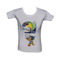 P5501-Remera infantil sublimable
