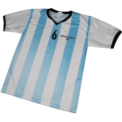 P5581-Camiseta Argentina Baston Pleno ADULTO